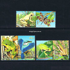 1999 - Australia - Small Pond - frogs - set of 6 - MNH