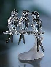 SWAROVSKI CRYSTAL SWALLOWS 892039 MINT BOXED RETIRED RARE