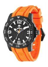 Timberland TBL.13613JSB/02 Men's Quartz Watch  Orange Rubber Strap RRP £190