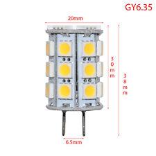 GY6. 35 Zócalo pin Lámpara 27-SMD-5050 320° LED 4.3W = 380lm = 35 watt 12V AC/DC