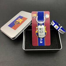 Soccer Keychain Wristband Wristlet Barcelona Team Football Club Fan Small gift