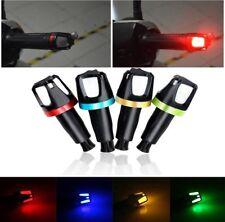 2x Motorcycle Handlebar Turn Signal Grip Bar End LED Strobe Side Marker Light