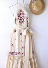 New~$228~Free People~Chrysanthemum Ruffle Crochet Peasant Boho Dress~Size 8 M