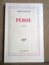 Michel Braudeau: Pérou/ Gallimard, 1998