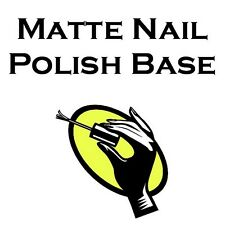 Matte Nail Polish Suspension Base 1 Gallon (4 x 32 ounces) Franken Polish Base