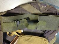 British Army Linesmans belt. genuine 1970s / 80s issue. Signals. Military.