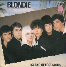45 TOURS 7' SINGLE--BLONDIE--ISLAND OF LOST SOULS / DRAGONFLY--1982