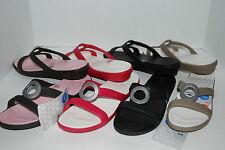 NEW CROCS SANRAH sandals slides shoes 6 7 8 9 10 ESPRESSO BROWN BLACK KHAKI PINK