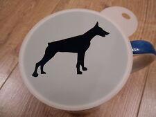 LASER CUT DOBERMANN design caffè e Craft Stencil