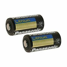 Panasonic BAT002 x 2 CR123A Lithium 3V Photo Lithium Batteries 0 67 Dia x 1 36