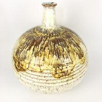 Mid Century Modern Alvino Bagni Raymor Pottery Vase Italy Ceramic Vintage MCM