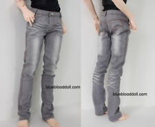 1/3 BJD 70cm EID model / Soom ID male doll clothes outfit light grey wash jeans
