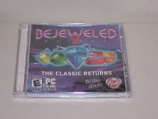 Bejeweled 2 Deluxe, Pop Cap PC CD-ROM game brand new
