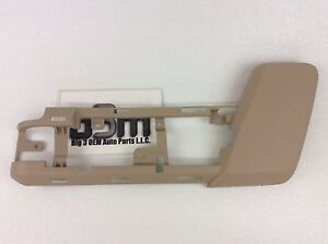 2006-2014 Ford Expedition Left Driver Tan Front Seat Shield Switch Bezel new OEM
