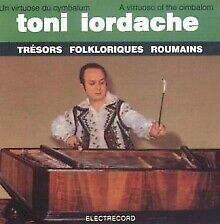 Sealed CD- TONI IORDACHE Cymbalom- Tresors Folklorique Roumains, Rom Folklore