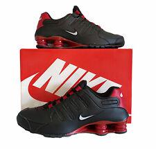 "Nike Shox NZ EU ""Bred"" Men's Size 11 501524-027 Black University Red White"