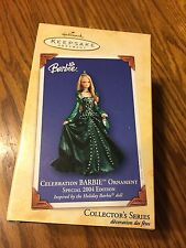 Hallmark Celebration Barbie Ornament Special 2004 Edition ,New In Box !