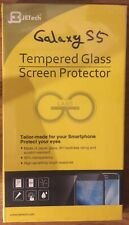 Brand New Jetech Tempered Glass Screen Protector For Samsung Galaxy S5 9H Hard