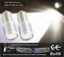 Cree LED Bax9s H6W 434 Bayonet Xenon White Side Lights Parking Bulbs Spots 12V