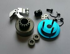 1/8 RC Nitro Clutch Flywheel Kit 3 Shoe Blue