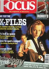 FOCUS MAGAZINE FEATURING X-FILES PLUS TECHNOLOGY ARTICLES OCTOBER 1996