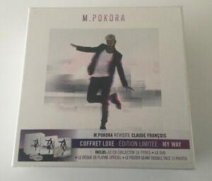 COFFRET LUXE EDITION LIMITÉE M.POKORA - MY WAY - NEUF