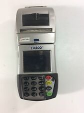 First Data Credit Card Wireless Machine Reader Swiper Fd400 Translation  #U1048