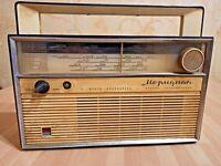 RADIO RARE VINTAGE Meridian SOVIET USSR RUSSIA TRANSISTOR