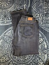 Mens AG Adriano Goldschmied The Protege Straight Leg Mens Dark Blue Jeans 36x32