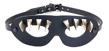 Leather Super Hero Claw Spike Sexy Goth Punk Eye Mask Costume Halloween Buckle