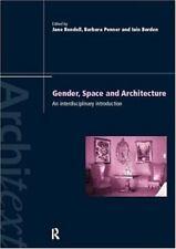 GENDER SPACE ARCHITECTURE - BARBARA PENNER, ET AL. JANE RENDELL (PAPERBACK) NEW