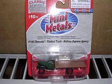 """C.M.W. Mini Metals #30273  1941/46 Chevrolet Flat Bed Truck """"Railway Express"""""""