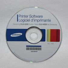 Samsung CLX-6220 Series Software Drucker Treiber Installations CD (Windows)