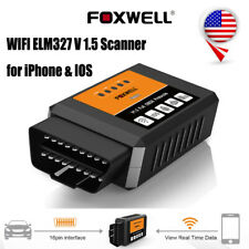 WiFi OBDII Diagnose Car Code Reader for Android iOS Auto Scanner Foxwell ELM327