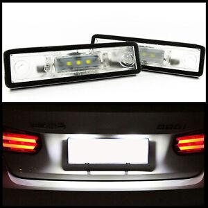 2x LED PREMIUM Kennzeichenbeleuchtung für Seat Toledo II 1M ab 1999-2004
