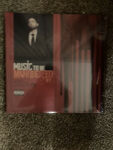 EMINEM - MUSIC TO BE MURDERED BY (2 LP) NEW VINYL.  Factory Sealed.  Limited.