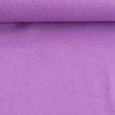 Bekleidungsstoff Flanell uni lila