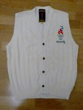 Vintage 1996 Atlanta Olympic Button down Vest: Adult Size L
