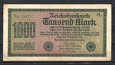 Allemagne  - Germany billet de 1000 mark (1) pick 76e1 15 septembre 1922 Fine