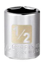 "New! Craftsman 1/2"" Socket 1/4-Drive 6-Point 34598"