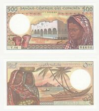 Billete Comoras 500 francos (1994) Pick Ref: 10b-UNC.