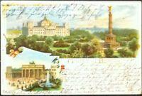 POSTKARTE  BERLIN 1898