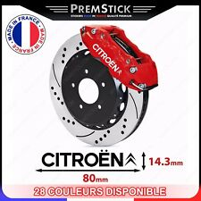 Kit 4 Stickers Etrier de Frein Citroen - Autocollant voiture, auto, racing, ref3