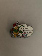 Disney Auctions Exclusive * Pooh & Piglet Happy Holidays * Le 100 Disney Pins