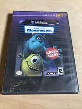 Disneys Pixar Monsters, Inc. Scream Arena Nintendo Game Cube Game