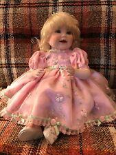 Marie Osmond Queen Elizabeth 12' Seated Porcelain Doll