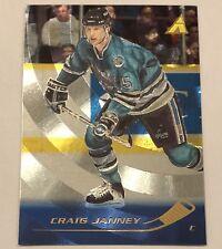 1995-96 Pinnacle Rink Collection CRAIG JANNEY San Jose Sharks 37, NRMT