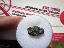 .85 gram NWA 10903 - CV3 Carbonaceous - Meteorite from Africa