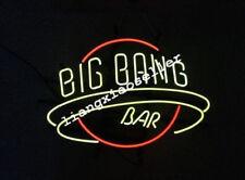 17X14 Big Bang Bar NEON SIGN BEER BAR Pub LIGHT Lamp Real Glass sign