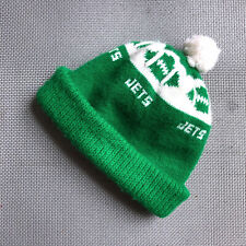 NY JETS NFL Hat Double Knit Pom Winter Cap Vintage 1970s Football New York